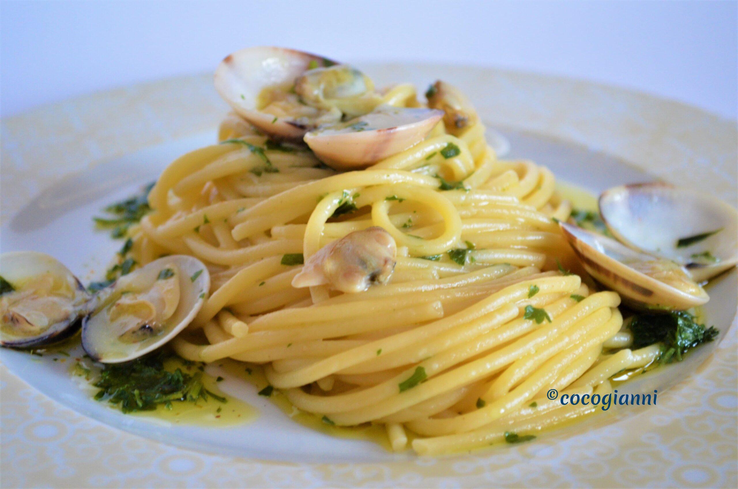 Spaghetti vongole veraci 1
